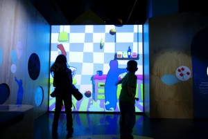 Wiggles exhibition views, 26th of September 2011.